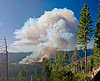 Yosemite National Park. Big Meadow Fire Pano<br /> <br /> Photo by Dennis
