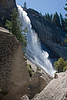 Yosemite National Park. Nevada Falls as we struggled to climb up to the top.<br /> <br /> Photo by Dennis