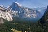 Yosemite National Park. The smoky view from Tunnel View<br /> <br /> Photo by Deb