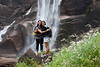 Cheryl and Nicole on the hike to Vernal Falls. <br /> <br /> Photo by Deb