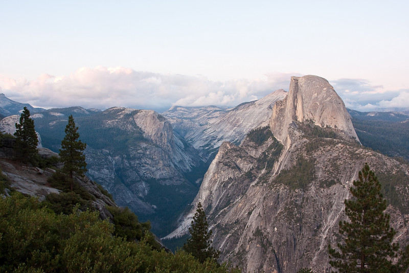 Yosemite National Park. The valley from Glacier Point.<br /> <br /> Photo by Dennis