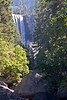 Yosemite National Park. First view of Vernal Falls during our waterfall hike.<br /> <br /> Photo by Dennis