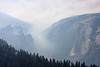 Yosemite National Park. Taken from Sentinel Dome, Looking back toward El Capitan on the right and Cathedral Spires on the left<br /> <br /> Photo by Deb