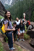 On the hike to Vernal Falls. <br /> <br /> Photo by Deb
