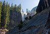 Yosemite National Park. Zillions of steps up to Vernal Falls<br /> <br /> Photo by Dennis
