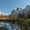 Yosemite in Autumn - Bridal Veil Falls