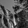 Bridal Veil Falls, Yosemite, in Autumn