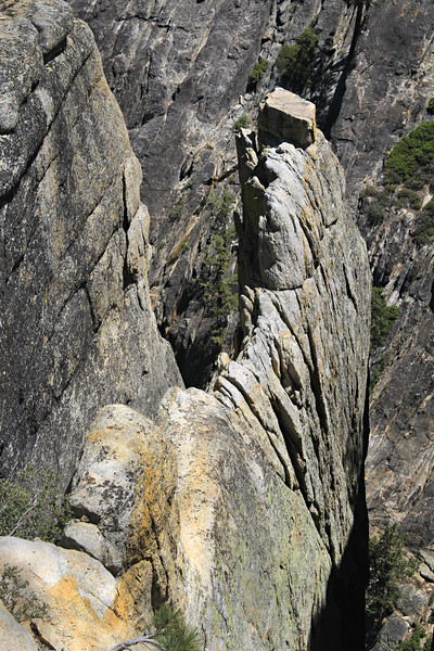 Fissure near Taft Point