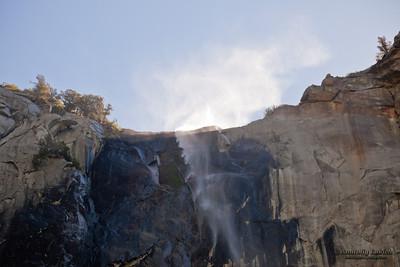 Bridalveil Fall. Yosemite National Park, California, U.S.A.