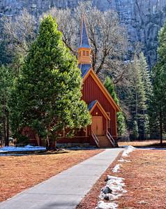 That quaint church in Yosemite