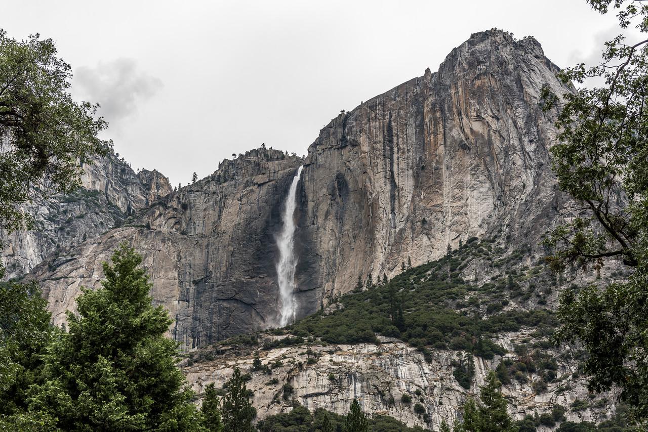 The 436m high Upper Yosemite Fall