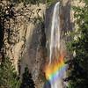 Bridalveil Falls at Sunset