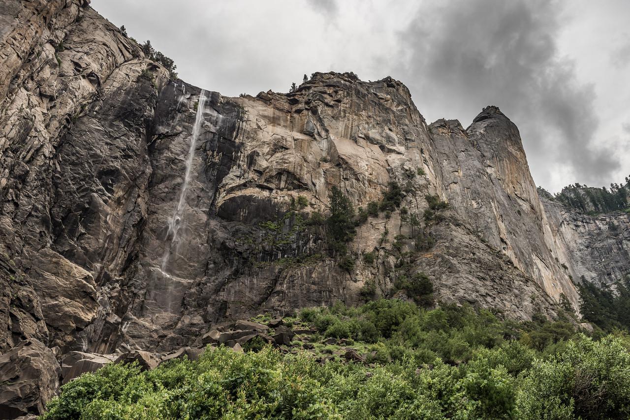 Bridalveil Fall, Yosemite National Park. Dry!