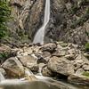 The 98m high Lower Yosemite Fall