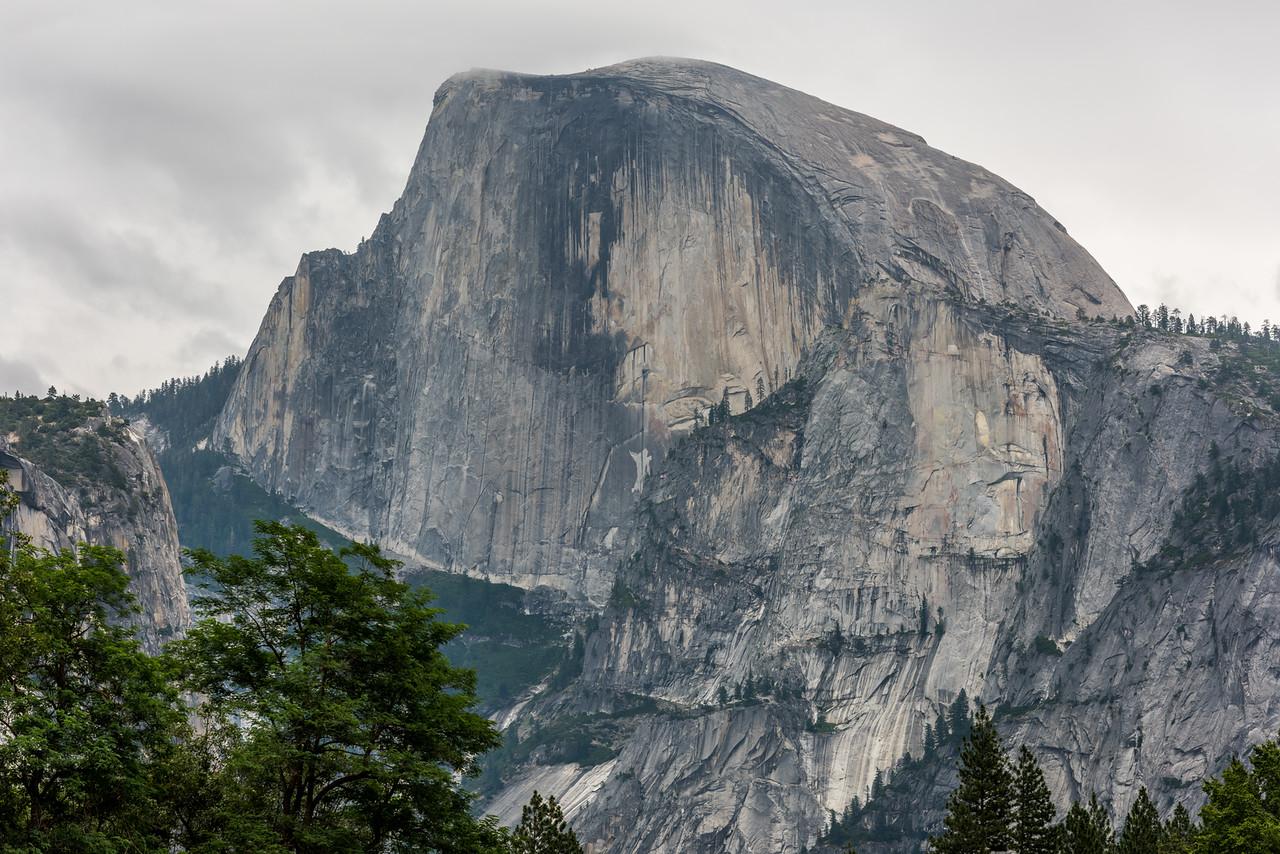 Half Dome (2693m), Yosemite Valley.