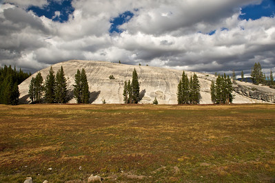 Granite Dome at Tuolumne Meadows, Yosemite National Park, California