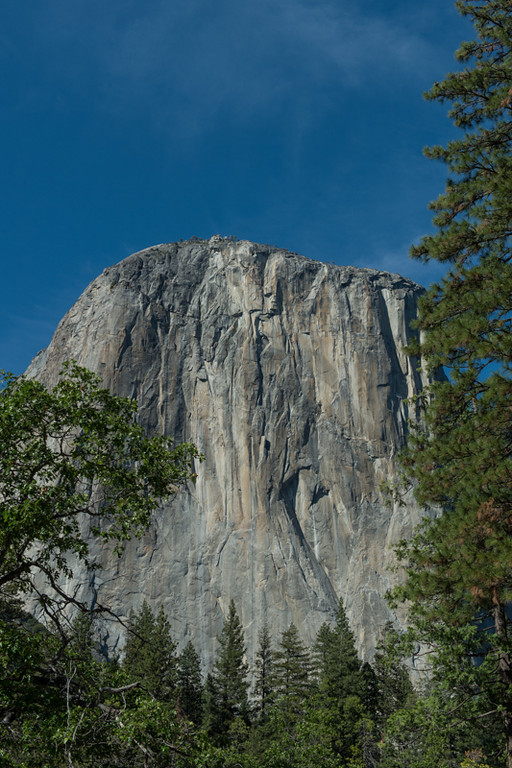 El Capitan..amazing they climb the front sheer face of this.
