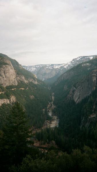Yosemite Winter 2001