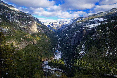 The postcard (Tunnel View)