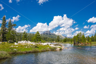 Tuolumne River in Tuolumne Meadows