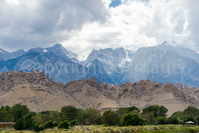 The Sierra Nevadas and Mt. Whitney
