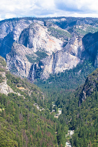 Yosemitem Valley from Valley viewpoint