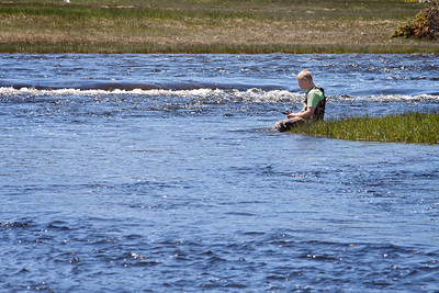 Fishin' in the Firehole River, Biscuit Basin