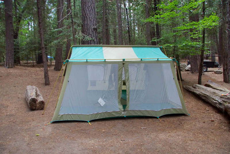The Tent! (not actual size)