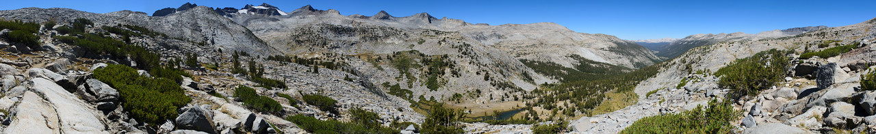 Lyell Canyon and Donohue Pass