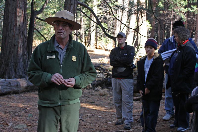 """Ranger on """"bear"""" hike"""