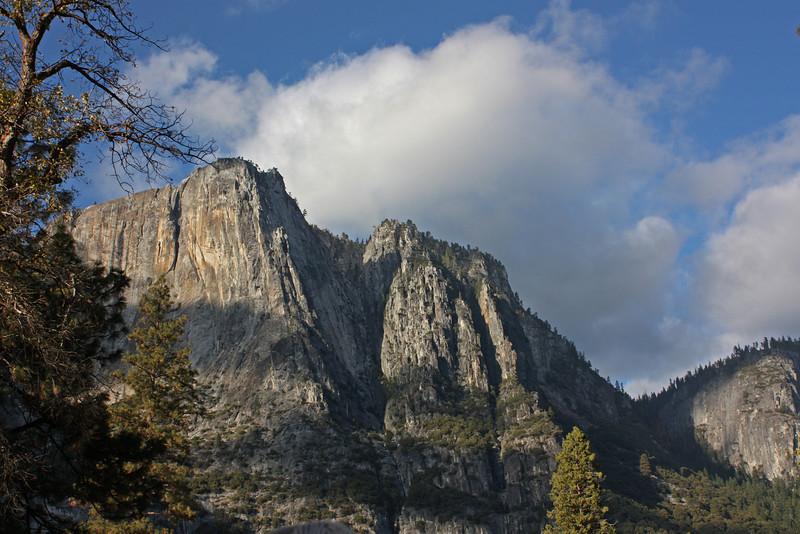North wall of Yosemite