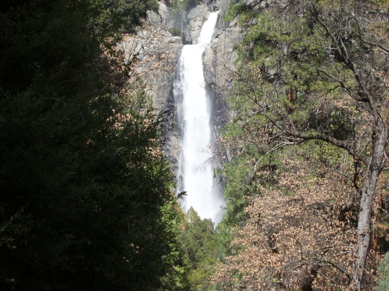 Middle Cascades and Lower Yosemite Falls<br /> Yosemite - 2016-03-16 at 13-27-09