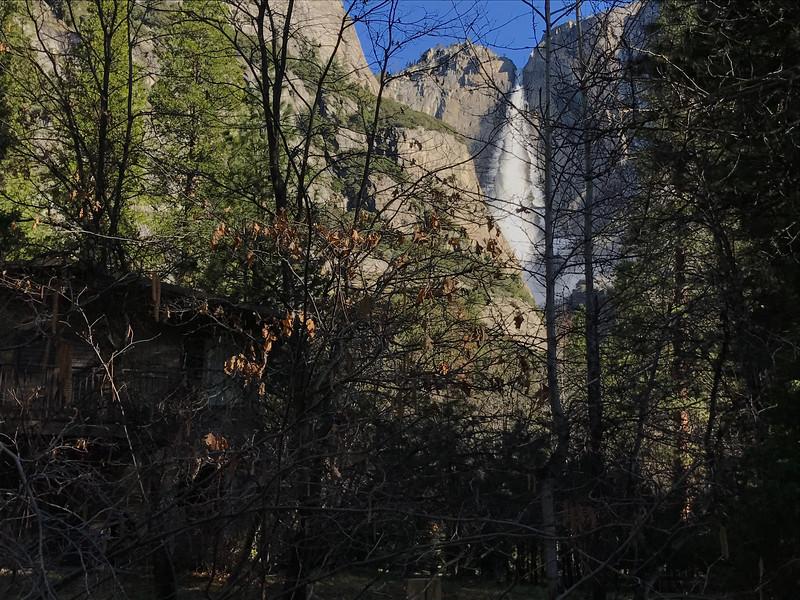 Yosemite Falls Morning View