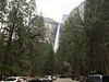 Bridalveil Falls from the parking area