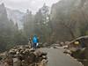 At the Bridalveil Falls Viewpoint