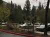 North Dome and Half Dome from Yosemite Lodge