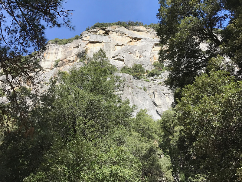 Merced River Canyon Wall