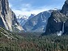 Half Dome, Sentinal Rock, Bridalveil Fall