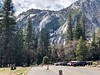 View up Tenaya Canyon from Ahwahnee Meadow