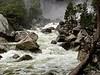 Yosemite Creek directly below the falls