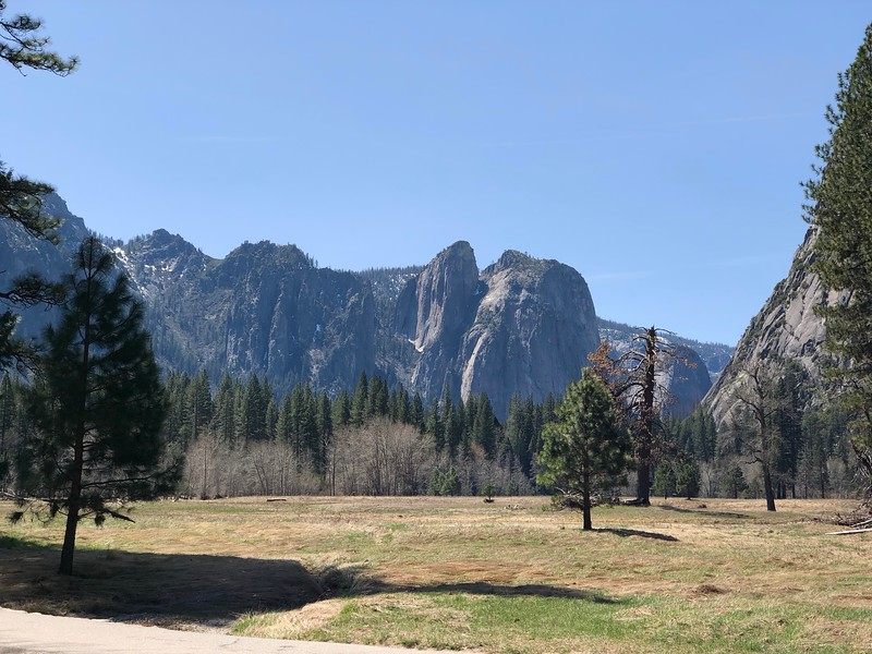 Cathedral Rock from Leidig Meadow
