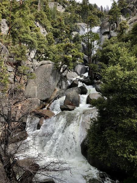 A wider view of Cascade Creek