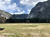 Across Ahwahnee Meadow toward the Merced Canyon