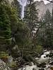 Bridalveil Falls and Creek