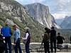 El Capitan with fans