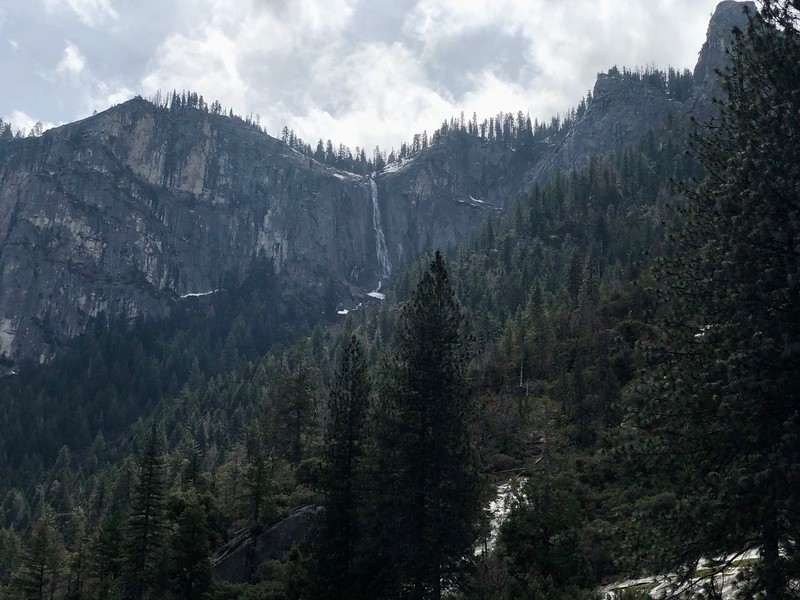 Silver Strand Falls above tunnel View