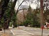 Half Dome above Yosemite Village