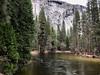 Tenauya Creek from the Ahwahnee Bridge