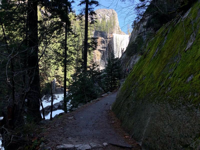 Liberty Cap and Vernal Falls