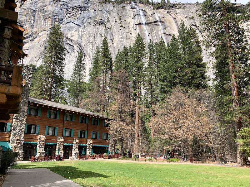 The Hotel and the Cascades